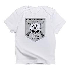 Zombie Response Team: Alabama Division Infant T-Sh