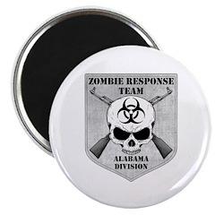 Zombie Response Team: Alabama Division Magnet