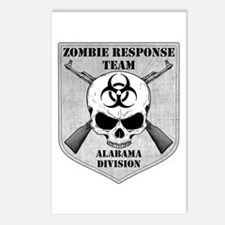 Zombie Response Team: Alabama Division Postcards (