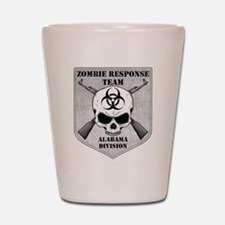 Zombie Response Team: Alabama Division Shot Glass