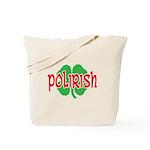 Polirish Clover Tote Bag
