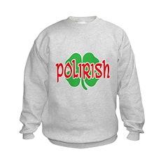 Polirish Clover Sweatshirt