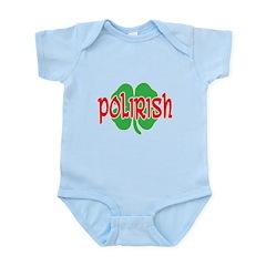 Polirish Clover Infant Bodysuit