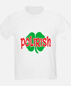 Polirish Clover T-Shirt