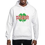 Polirish Clover Hooded Sweatshirt