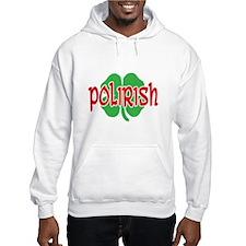 Polirish Clover Hoodie