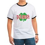 Polirish Clover Ringer T