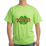 Polirish Clover Green T-Shirt