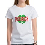 Polirish Clover Women's T-Shirt