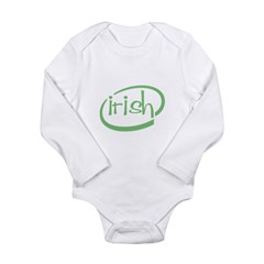 Irish Intel Long Sleeve Infant Bodysuit