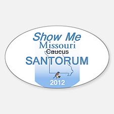 Santorum MISSOURI Decal