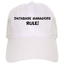 DATABASE MANAGERS Rule! Baseball Cap