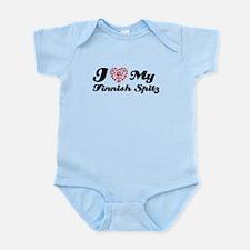 I love My Finnish Spitz Infant Bodysuit