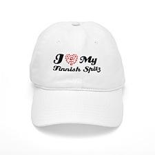 I love My Finnish Spitz Baseball Baseball Cap