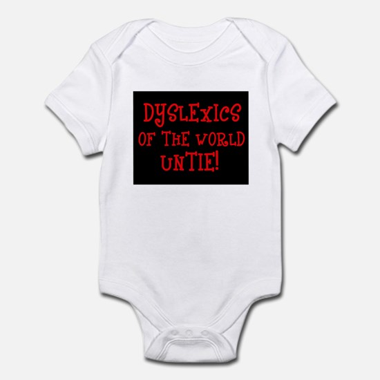 Dyslexics Untie! Infant Creeper