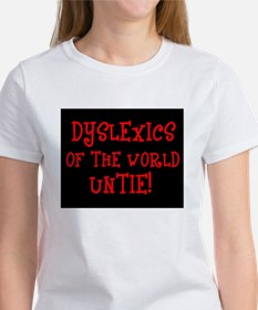 Dyslexics Untie! Women's T-Shirt