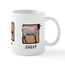 Eat Sleep Sheep Mug