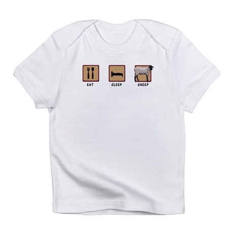 Eat Sleep Sheep Infant T-Shirt