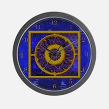 Harvest Moon's Gold Medallion Wall Clock