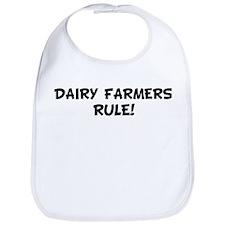 DAIRY FARMERS Rule! Bib