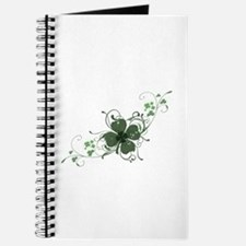Elegant Shamrock Journal