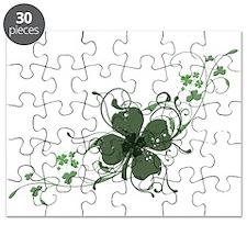 Elegant Shamrock Puzzle