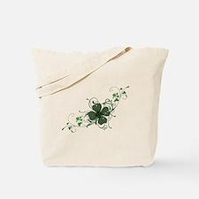 Elegant Shamrock Tote Bag