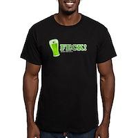 Feck Men's Fitted T-Shirt (dark)