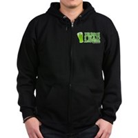 Irish I Had Another Zip Hoodie (dark)