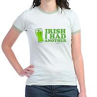 Irish I Had Another Jr. Ringer T-Shirt