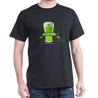 St Patrick's Day Beer Banner Dark T-Shirt