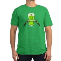 St Patrick's Day Beer Banner Men's Fitted T-Shirt