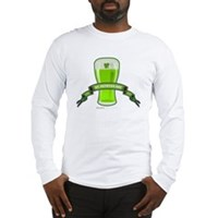 St Patrick's Day Beer Banner Long Sleeve T-Shirt