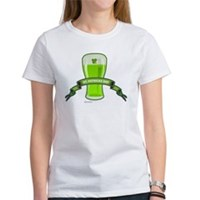 St Patrick's Day Beer Banner Women's T-Shirt