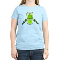 St Patrick's Day Beer Banner Women's Light T-Shirt