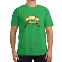 St Patrick's Day Tripple Beer Banner Men's Fitted