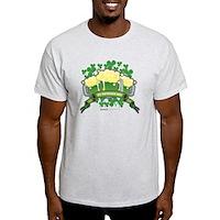 St Patrick's Day Tripple Beer Banner Light T-Shirt