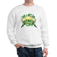 St Patrick's Day Tripple Beer Banner Sweatshirt