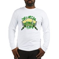 St Patrick's Day Tripple Beer Banner Long Sleeve T