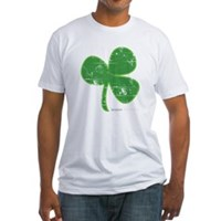 Vintage Clover Fitted T-Shirt