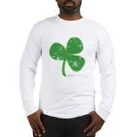 Vintage Clover Long Sleeve T-Shirt
