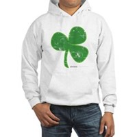 Vintage Clover Hooded Sweatshirt