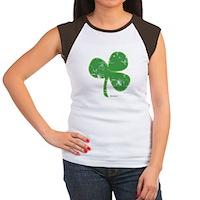 Vintage Clover Women's Cap Sleeve T-Shirt