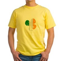 Vintage Clover Flag Yellow T-Shirt