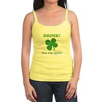 Drink Till Yer Green Jr. Spaghetti Tank