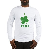 I Love You Clover Long Sleeve T-Shirt