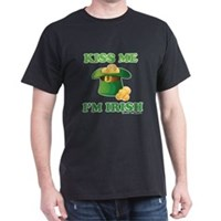 Kiss Me Im Irish Dark T-Shirt
