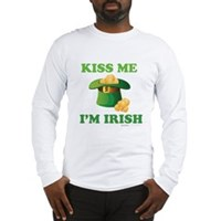 Kiss Me Im Irish Long Sleeve T-Shirt