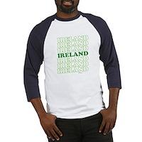 Ireland St Patrick's Day Baseball Jersey