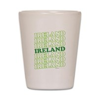 Ireland St Patrick's Day Shot Glass